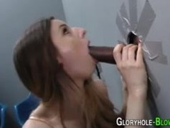 Teen, Boobs, Monster cock, Gloryhole, Interracial, Big cock, Big tits, Babe, High definition, Cock, Tits, Brunette, Blowjob