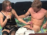 Drunk, Mommy, Sucking, Skinny, Mature, Stockings, Blonde, Blowjob, Oral, Young, Fucking, Milf, Old, Cougar, Russian