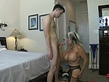 Cumshot, Caught, Mommy, Old and young, Mature, Seduction, Milf, Young, Cougar, Innocent, Fucking, Mother-in-law, Not son, Handjob, Taboo