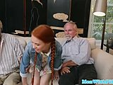 Homemade, Sucking, Neighbors, Doggystyle, Girl next door, Bent over, Amateurs, Reality, Pigtails, Young, Old man, Cock, Petite, Horny, Old, Fucking, Teen, Old and young, Blowjob, Redhead