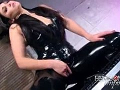 Jerk off instructions, Babe, Fetish, Outfit, Kinky, Latex
