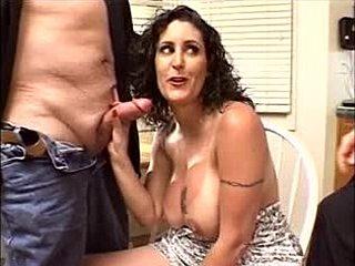 Husband watching sex