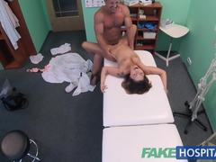 Reality, Desk, Doctor, Pussy, Patient, Pov, Uniform, Orgasm, European, Sex, Cumshot, Hardcore, Hospital, Petite, Blowjob