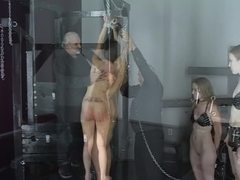 Sex, Teen, Cute, Maledom, Group, Beautiful, Brunette, Master, 3 some, Lingerie, Torture, Bdsm, Tits, Watching, Slave