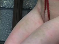Teen, Fetish, Maledom, Basement, Bdsm, Feet, Master, Young, Spanking, Whipping, Choking, Tits, Brunette, Gagging