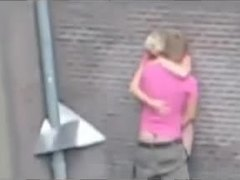Sex, Teen, Caught, Street, Blonde, Dutch, Homemade, Webcam, Young, Fucking, Outdoor, Public, Doggystyle, Bent over, Amateurs
