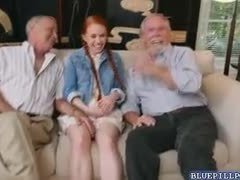 Dad and girl, Teen, Exploited, Pornstar, Group, Small tits, 3 some, Old, Redhead, High definition, Tits, Young, Old man