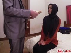 Doggystyle, Babe, Cute, Ass, Cock, Bent over, Arab