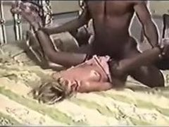 Milf, Monster cock, Sexy, Antique, Vintage, Wife, Blonde, Interracial, Small tits, Bent over, Husband, Doggystyle, Retro, Tits, Hardcore, Big black cock