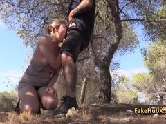 Uniform, Doggystyle, Pov, Reality, Police, Fucking, Outdoor, High definition, Slut, Bent over, Blonde