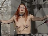 Brutal, Amateurs, Fetish, Piercing, Slave, Needle, Kinky, Punished, Lesbian, Bdsm, Redhead