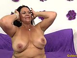 Old woman, Stockings, High definition, Mature, Masturbation, Cock, Big tits, Boobs, Young, Fingering, Tits, Old, Blowjob, Brunette