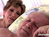 Lingerie, Grandmother, High definition, Grandfather, Blowjob, Boobs, European, Fucking, Tits, Granny, Big tits